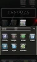 Screenshot of Equinox Lite Go Launcher Theme