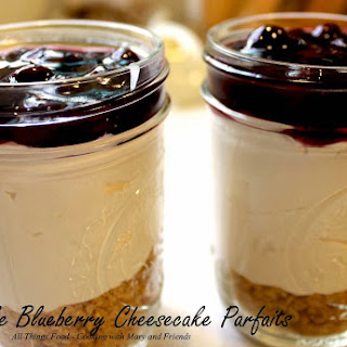 No-Bake Blueberry Cheesecake Parfaits