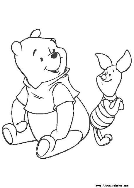 Laminas De Winnie Pooh Para Pintar