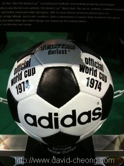 Adidas Telstar Durlast – World cup Germany 1974