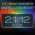 Ice Cream Sandwich Clock logo