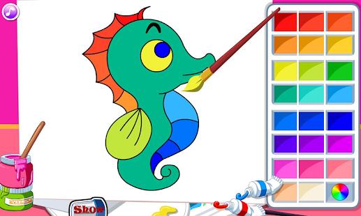kids coloring book screenshot thumbnail - Kids Coloring App
