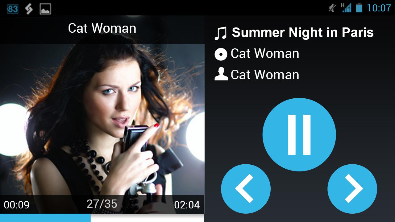 AALinQ Car Music Player - screenshot