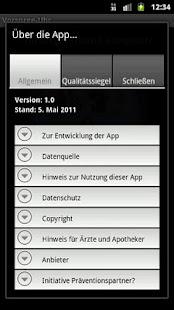 Vorsorge-Uhr- screenshot thumbnail