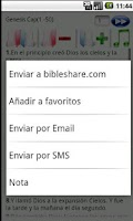 Screenshot of Holy Bible Reina Valera