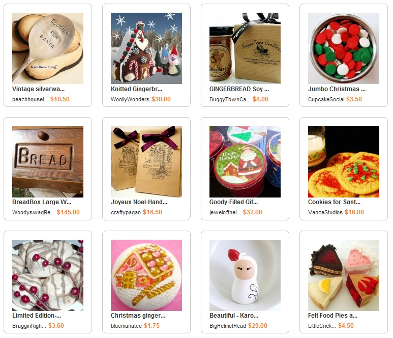 Christmas in the Kitchen ArtFire Collection