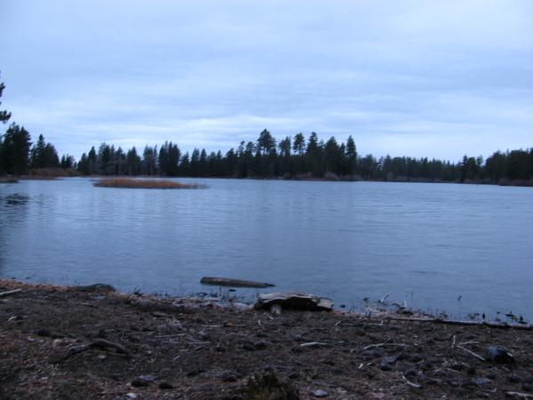 Manzanita Lake.