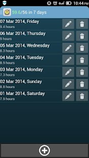 Healthy Sleep Diary screenshot for Android