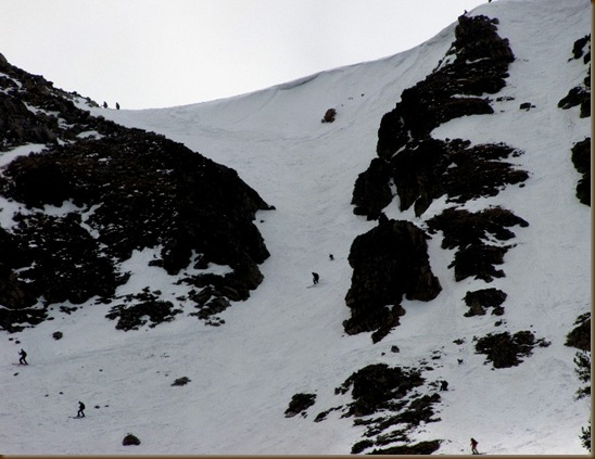 Beartooth Mtn skiers