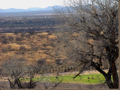 Slaughter Ranch Mexican fence