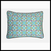 Geox Aqua and Green Nursery Pillow