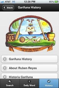 Garifuna-English-Spanish- screenshot thumbnail