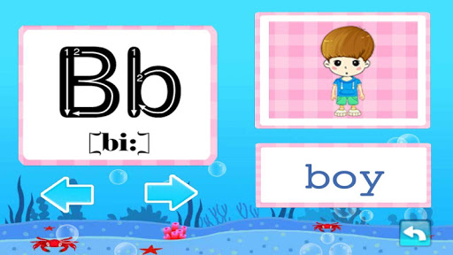 Baby Learn ABCs Children Games