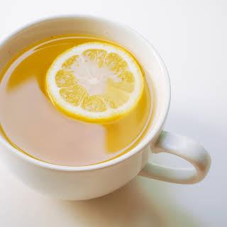 Lemon Ginger Detox Tea.