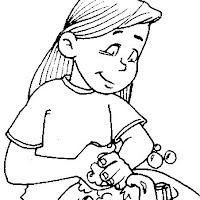 Dibujos De Higiene Para Colorear Para Niños