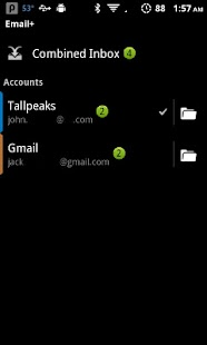 Email+ (Exchange) - screenshot thumbnail