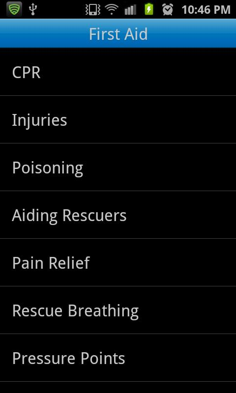 Advanced First Aid- screenshot