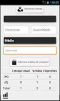 Screenshot of CCRM Aplicativo de Vendas