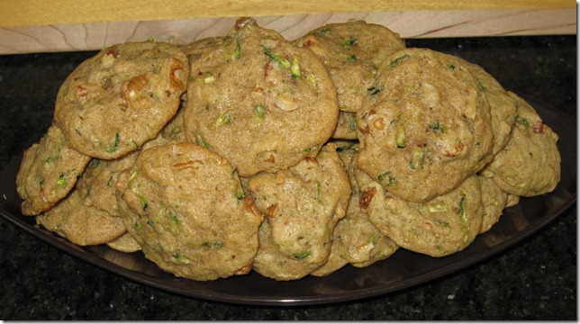 Baking And Boys!: Grandma Tiny's Zucchini Cookies (They're