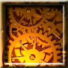 Gold Time Machine LWP icon