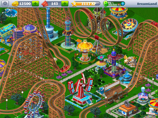 RollerCoaster Tycoonu00ae 4 Mobile 1.13.2 screenshots 1
