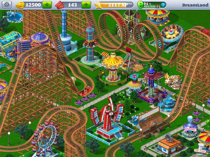 RollerCoaster Tycoon\302\256 4 Mobile Screenshot