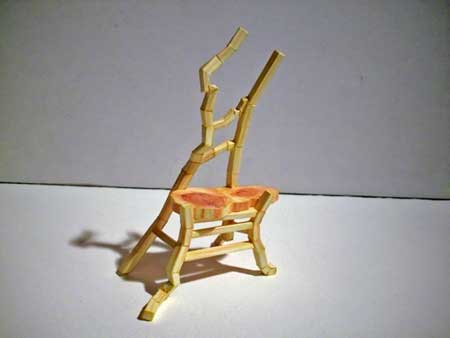 Tina's Chair Papercraft