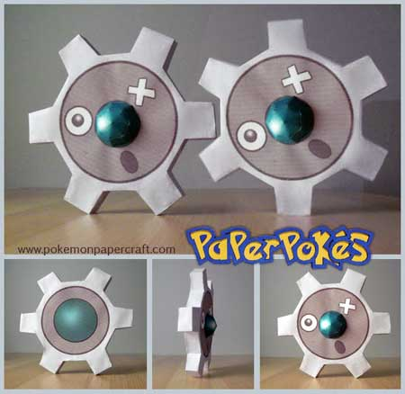 Pokemon Giaru Papercraft