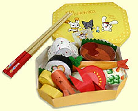 Sushi Lunch Box Papercraft