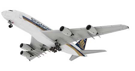 Airbus A380 Superjumbo Papercraft