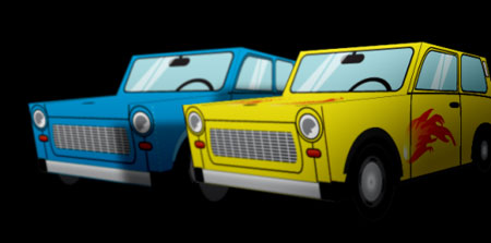 Scamp Trabant Papercraft
