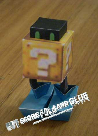 Blockhopper Papercraft