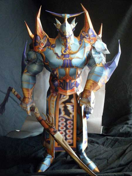Dissidia Final Fantasy Exdeath Papercraft