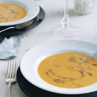 Carrot Fennel Soup.