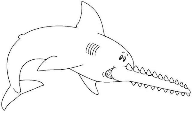 Dibujos animales del mar para pintar for Immagini da colorare di pesci