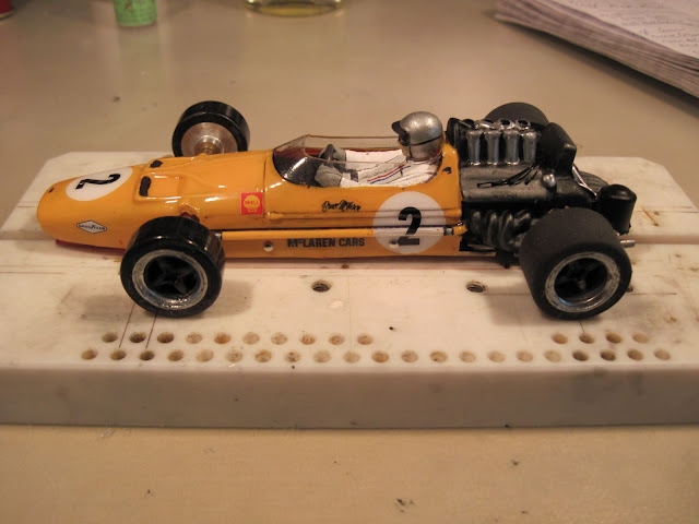 1/24 McLaren M7A Retro F1 - Scratch building - SlotForum