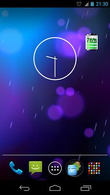 Battery Widget - screenshot