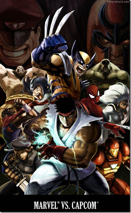 Marvel vs Capcom 3 - theprohack.com