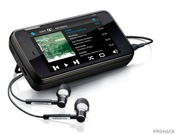 N900 is bundled with above average earphones