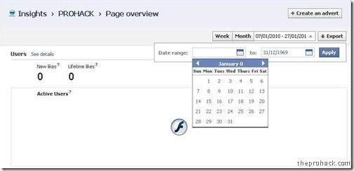 Facebook bug in the page insights – Post Insights bug
