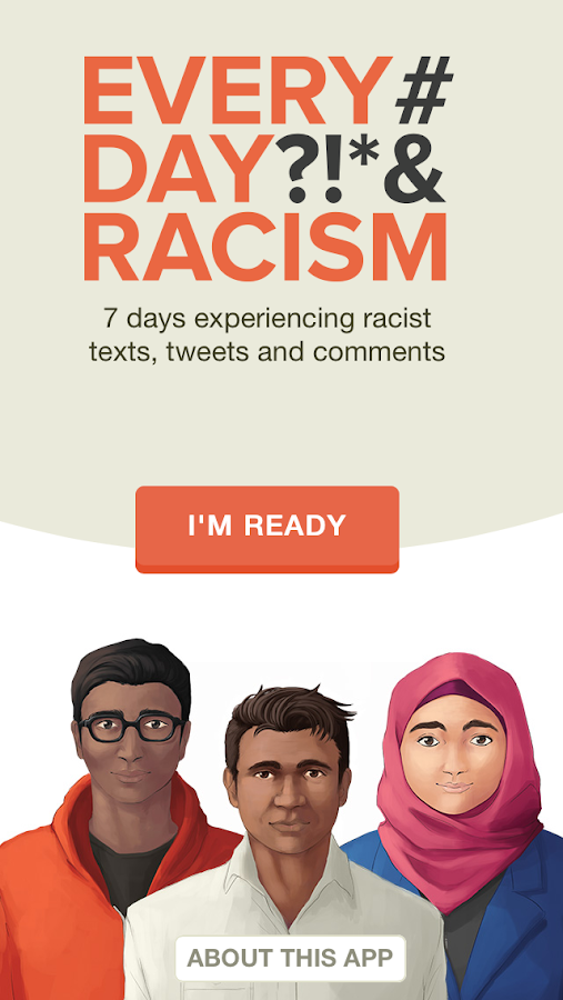 Everyday Racism - screenshot