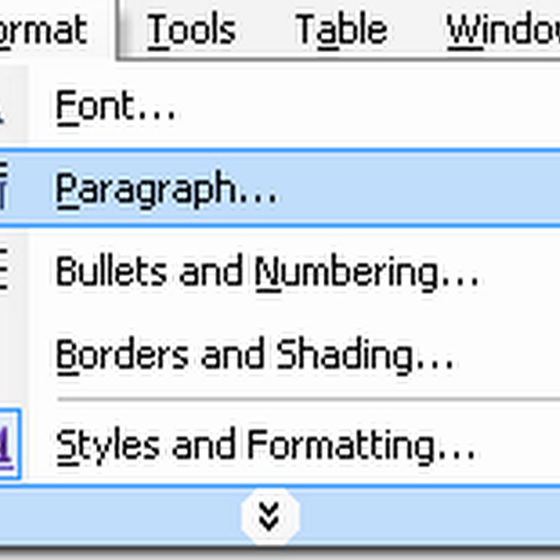 Cara Mudah Mengatur Jarak Antar Paragraf Di Ms Word