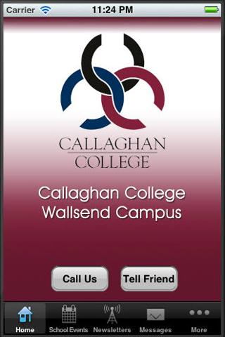 Callaghan College Wallsend - screenshot