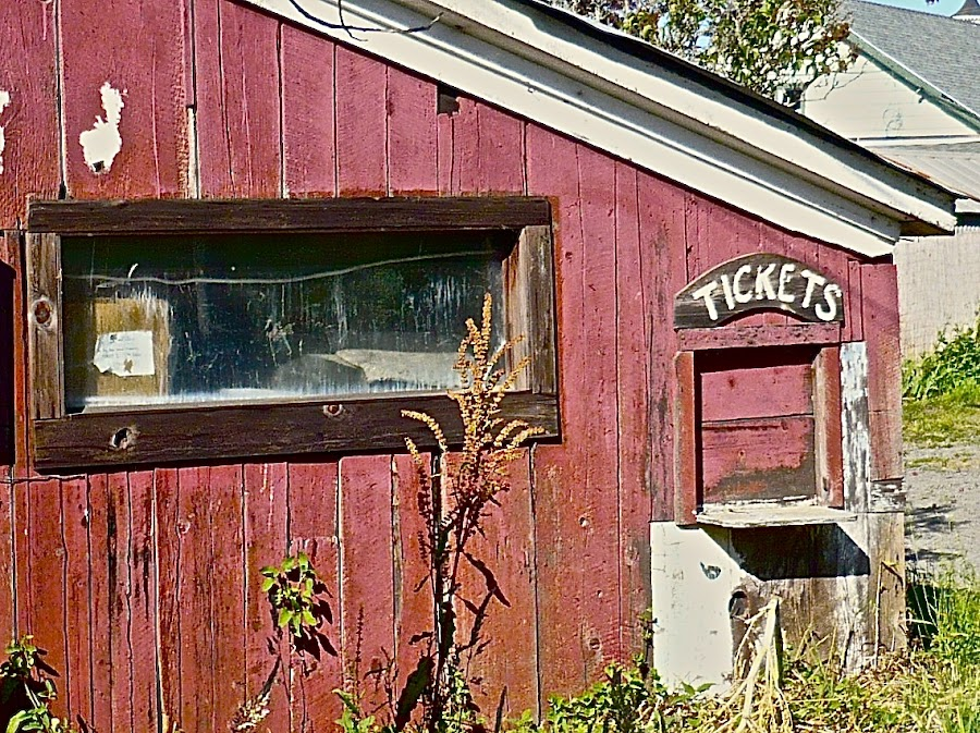 Box Office Beauty by Barbara Brock - Buildings & Architecture Other Exteriors ( abandoned theatre, theatre, box office, tickets,  )