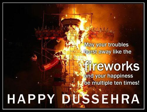 Happy Dussehra / VijayDashmi Wishes