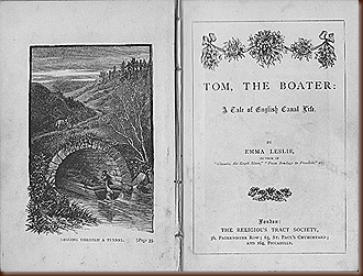 Forgotten Canal Books No.2 Title page Tom the Boater