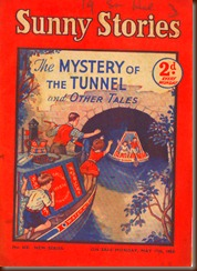Sunny Stories. Mystery of The Tunnel. 1954