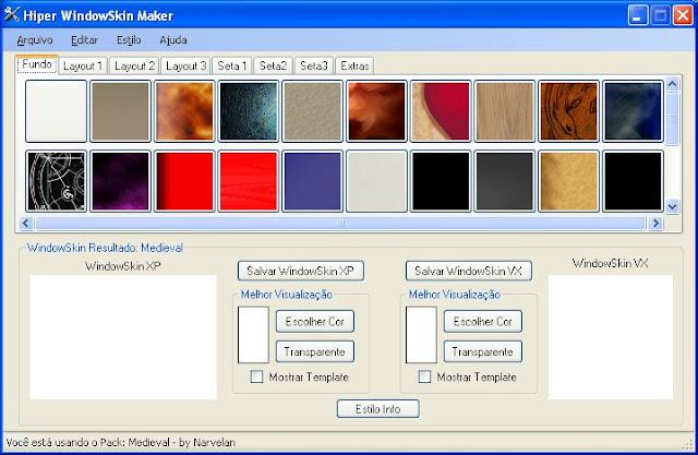 Hiper Windowskin Maker (RMXP/VX/VXA) – RPG Maker Times