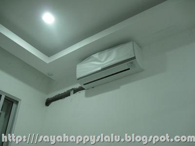 Wall Hacking For Air Cond Installation Kenapa Tak Pasang Kat Atas Sliding Door Senang Sikit Payah Hacking2 Dinding Terus