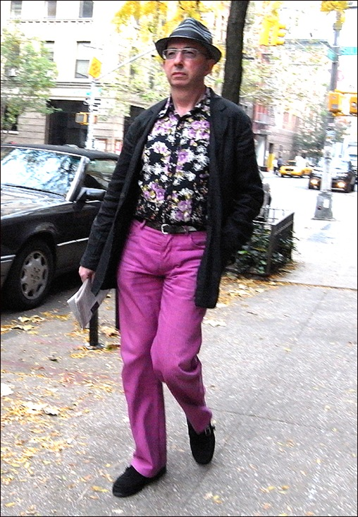 m purple pants